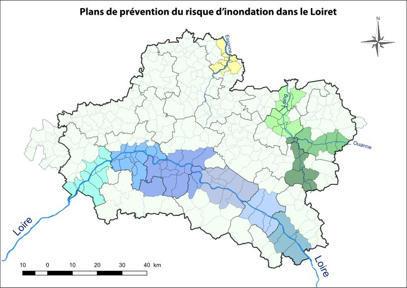 PPRI dans le Loiret - SchoolMouv - géographie - 2de