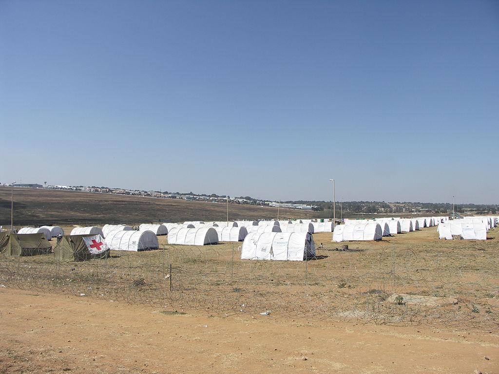Un camp de réfugiés en 2008 à Johannesburg - géo - 2de - SchoolMouv