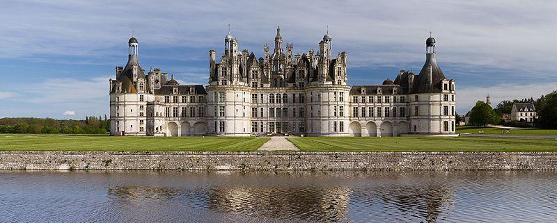 Le château de Chambord - histoire - seconde - schoolmouv