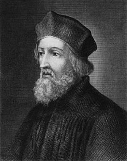 Portrait de Jan Hus - SchoolMouv - histoire - 2de
