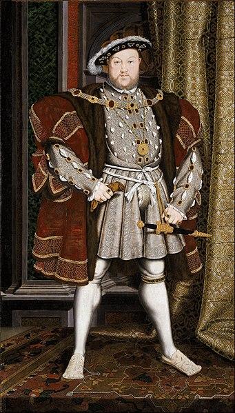 Portrait de HenryVIII par Hans Holein le Jeune - Histoire - 2de - SchoolMouv