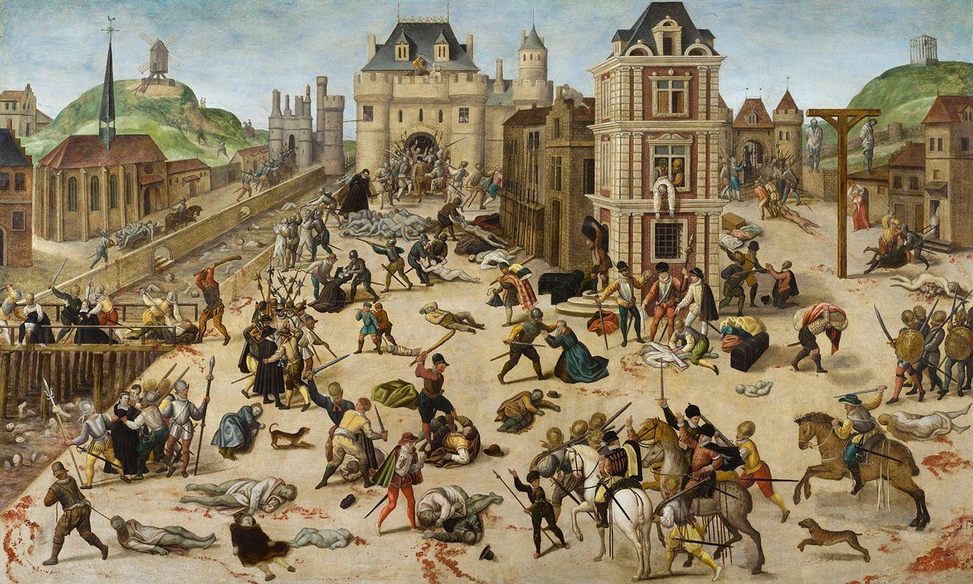 Le Massacre de la Saint Barthélémy - Histoire - 2de - SchoolMouv