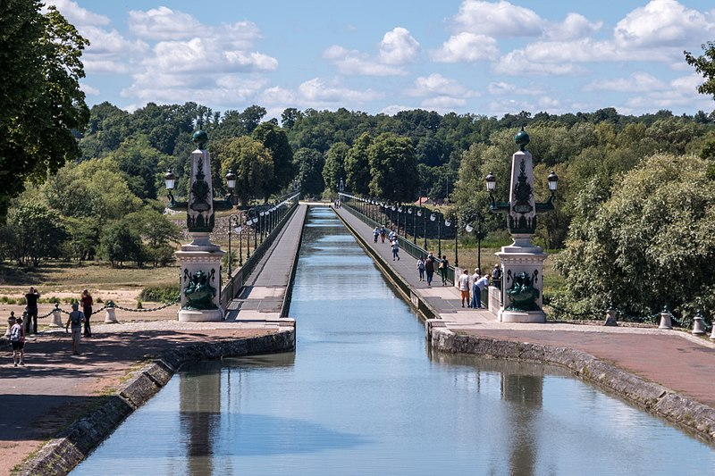 Canal de Briare, 2006 ©Clairannkalin - CC BY 4.0