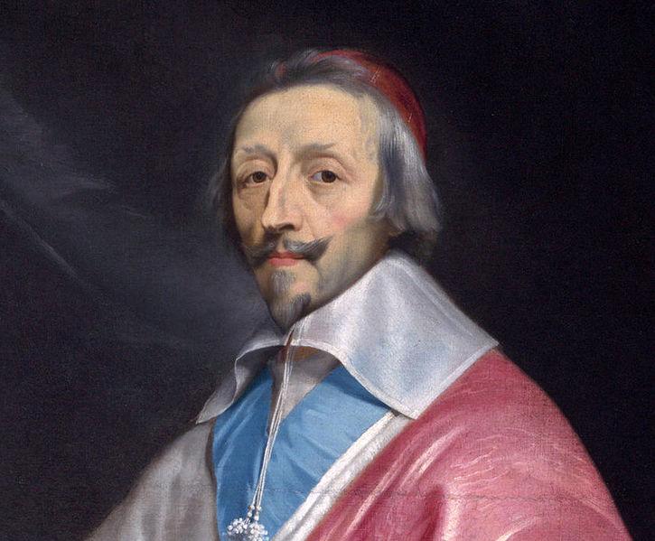 Partie du portrait du cardinal Richelieu par Philippe de Champaigne - Histoire - 2de - SchoolMouv