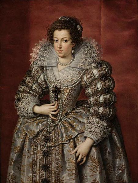 Portrait d Anne d'Autriche par Frans Fourbus le Jeune, 1616 - SchoolMouv - Histoire - 2de