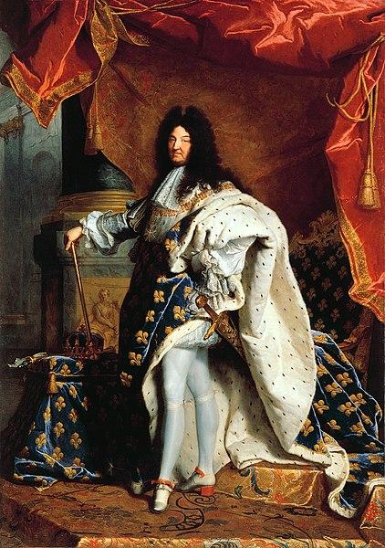 Portrait de Louis XIV par Hyacinthe Rigaud - Histoire 1re - SchoolMouv