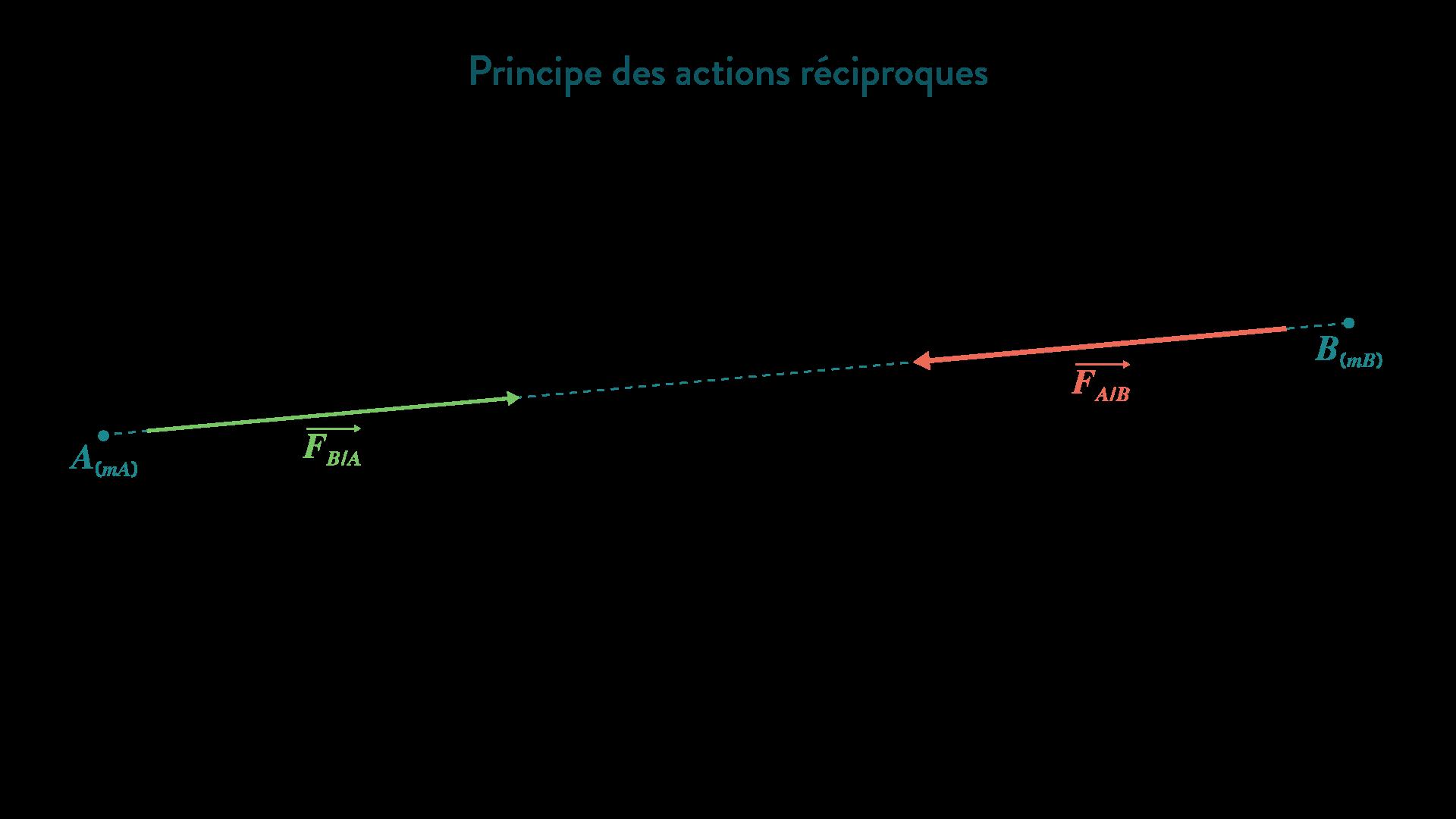 Le principe des actions réciproques