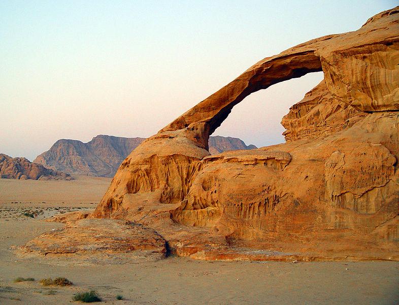 érosion climat Jordanie vent