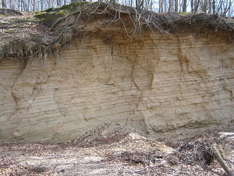 sédiments strates roches sédimentaires