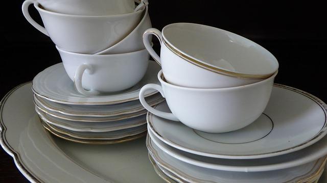 Porcelaine vaisselle kaolin