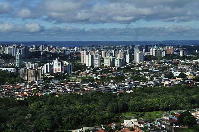 Manaus Brésil Amazonie urbanisation