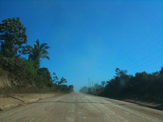 route transamazonienne amazonie urbanisation