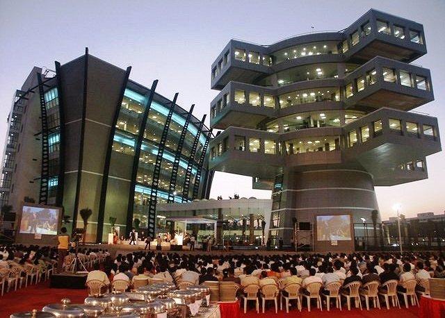 Bangalore Inde immeuble bureaux