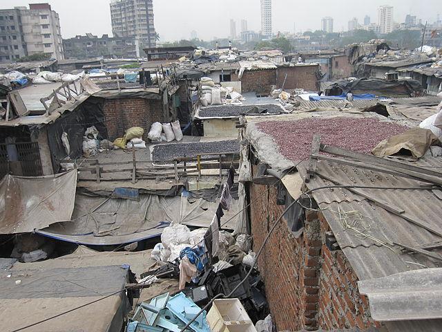 bidonville Dharavi Mumbai Inde ségrégation