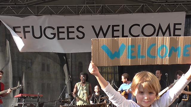 réfugiés Budapest Hongrie condert Europe flux migratoires