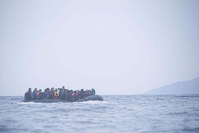 réfugiés migrants traversée Méditerranée flux migratoires