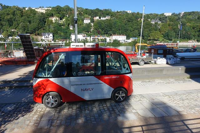 navette autonome Navly Lyon transports