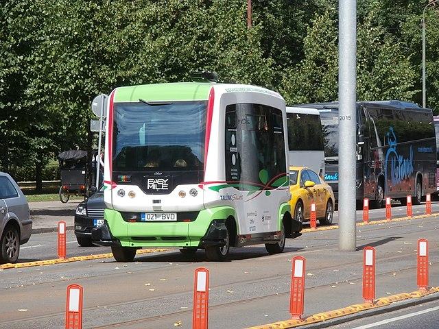 EasyMile transports TransDev véhicule autonome