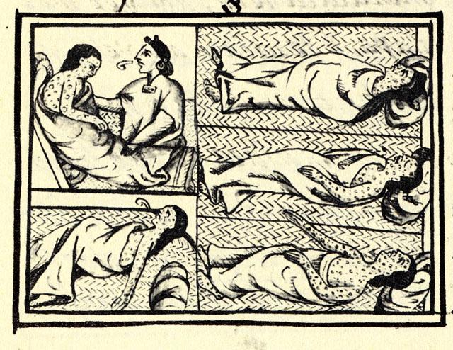 Populations indigène infectées par la variole - histoire - seconde - schoolmouv
