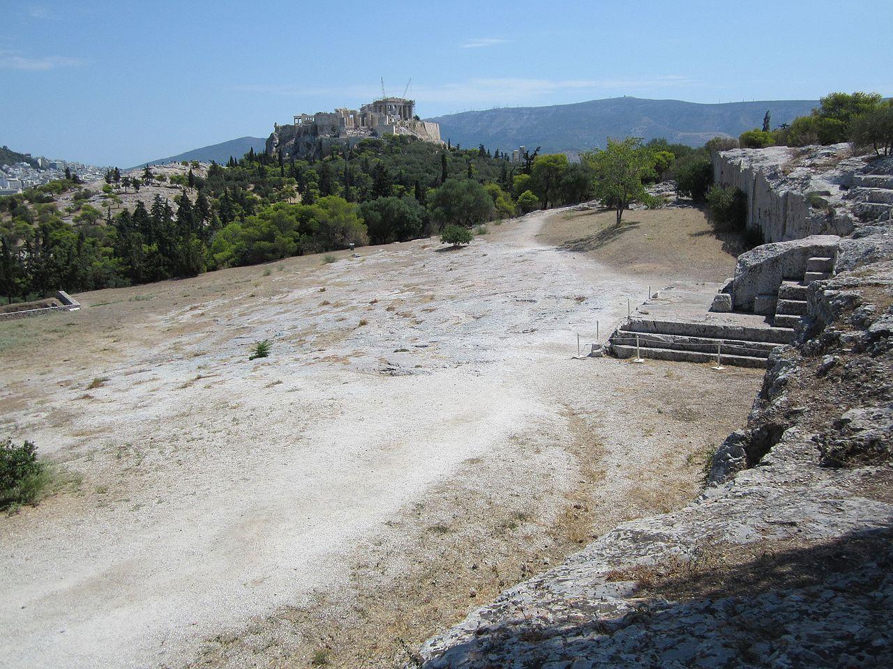 Photographie des ruines de la Pnyx ©Tomisti - CC BT-SA 4.0 - Histoire - 2de - SchoolMouv