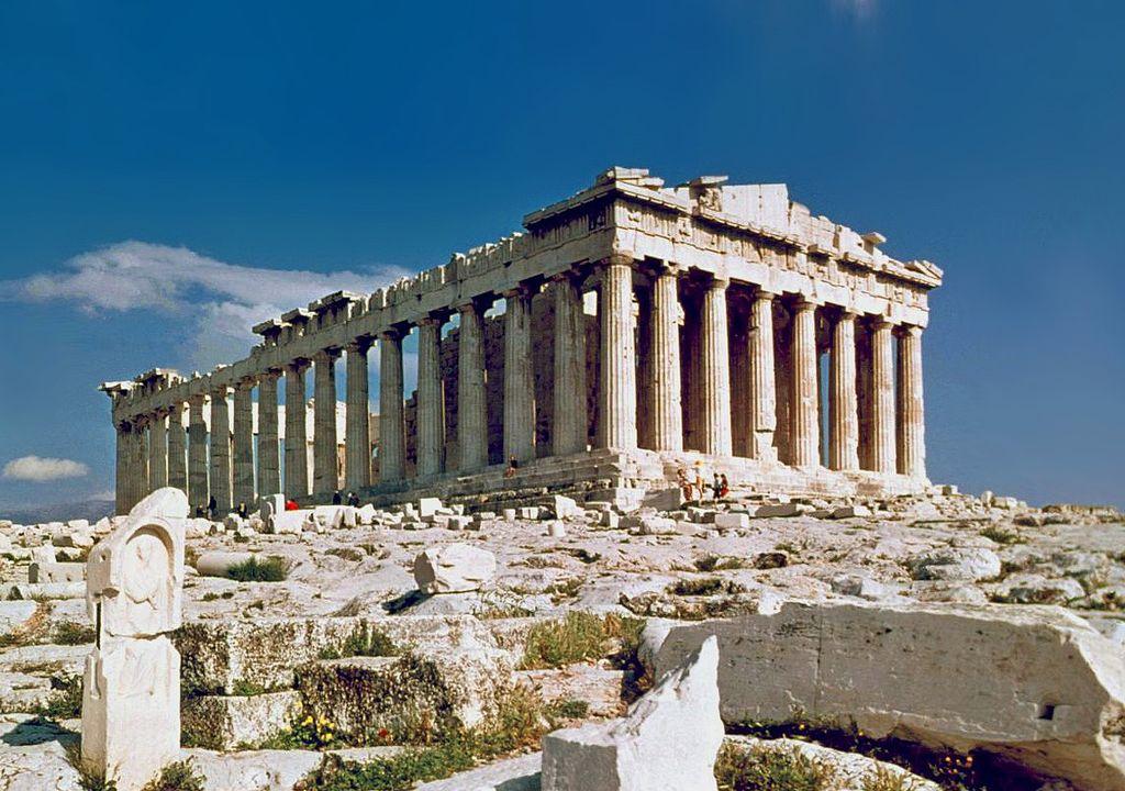 Ruines du Parthénon sur l'Acropole d'Athènes ©Steve Swayne - CC BY 2.0 - Histoire - 2de - SchoolMouv
