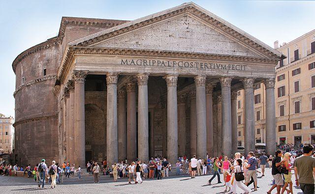Façade du Panthéon de Rome - Histoire - 2de - SchoolMouv