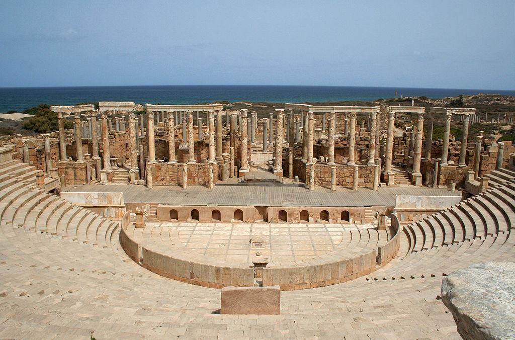 L'ancien théâtre romain à Leptis Magna - Histoire - 2de - SchoolMouv