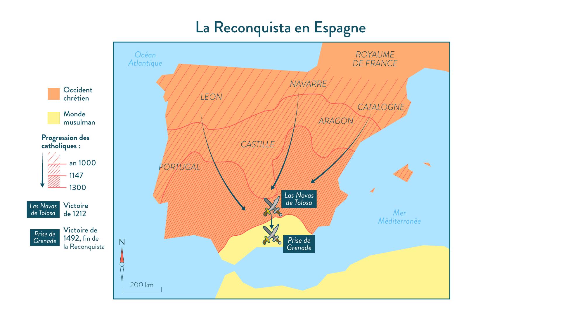 La Reconquista - Histoire - SchoolMouv - 2de