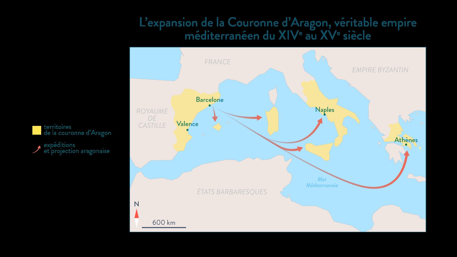 L'expansion de la Couronne d'Aragon - Histoire - 2de - SchoolMouv