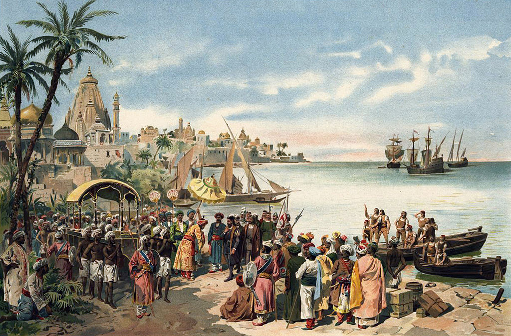 Arrivée de Vasco de Gama à Calicut - Histoire - 2de - SChoolMouv