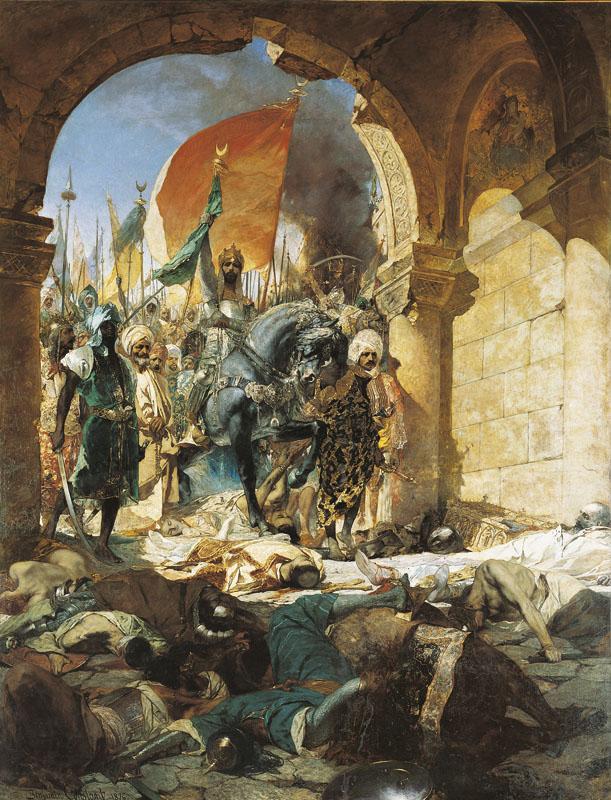 Entrée du sultan MehmetII à Constantinople - Histoire - 2de - SchoolMouv