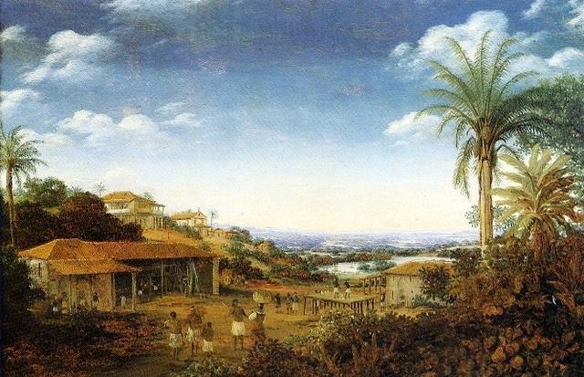 Frans Post, Plantation de canne à sucre à Pernambuco - Histoiire - 2de - SchoolMouv