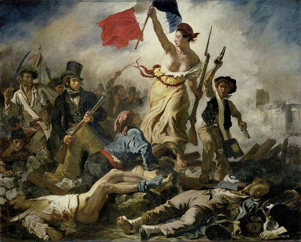 La Liberté guidant le peuple, Eugène Delacrois
