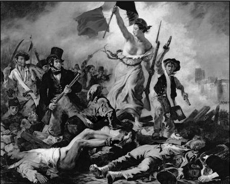 La Libert guidant le peuple, Delacroix - Sujet 0 histoire 2020 - SchoolMouv - Histoire