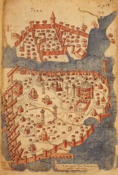 constantinople Mehmet II empire byzantin