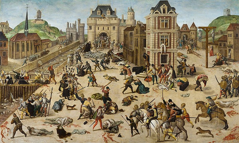 Saint Barthélemy massacre 1572 paris