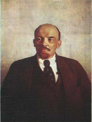 Lénine peint par Parkhomenkho, 1921