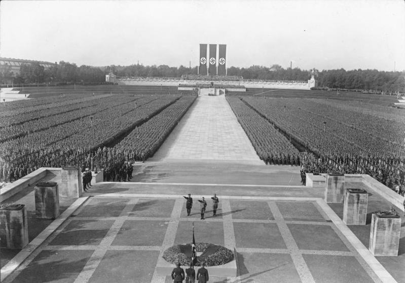 Le congrès annuel du Parti nazi à Nuremberg