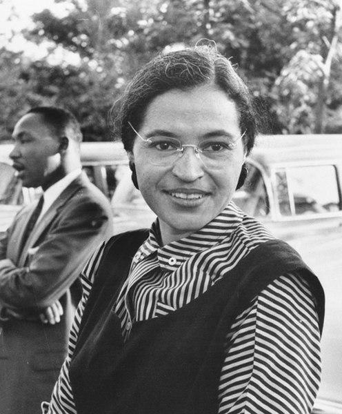 Rosa Parks avec Martin Luther King en 1955 - SchoolMouv - Histoire - terminale