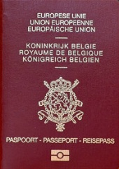 Couverture passeport belge ressortissant Union Européenne - SchoolMouv - Histoire - Terminale