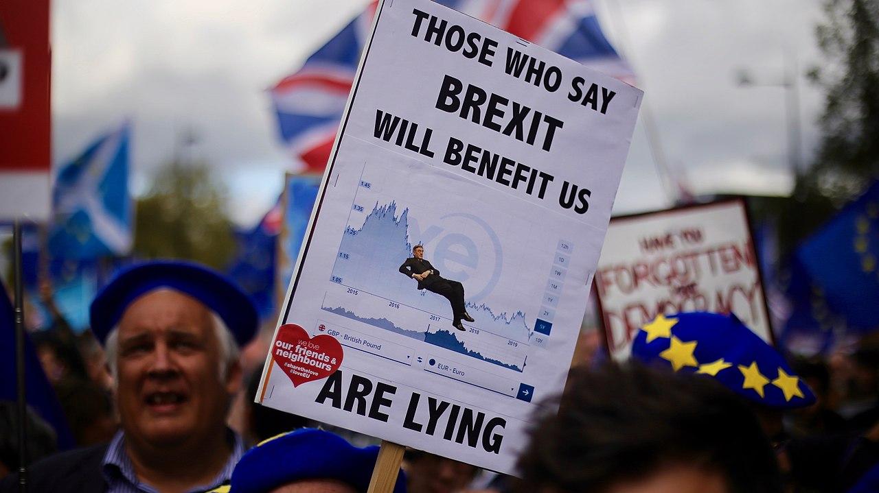 Manifestation anti Brexit Londres - SchoolMouv - Histoire - Terminale