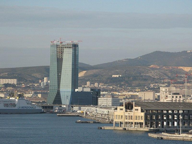 Le siège social de CMA CGM à Marseille - SchoolMouv - terminale - géographie