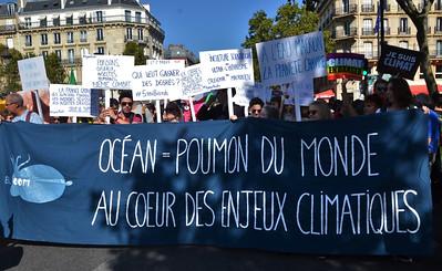 marche pour le climat action collective grève manif