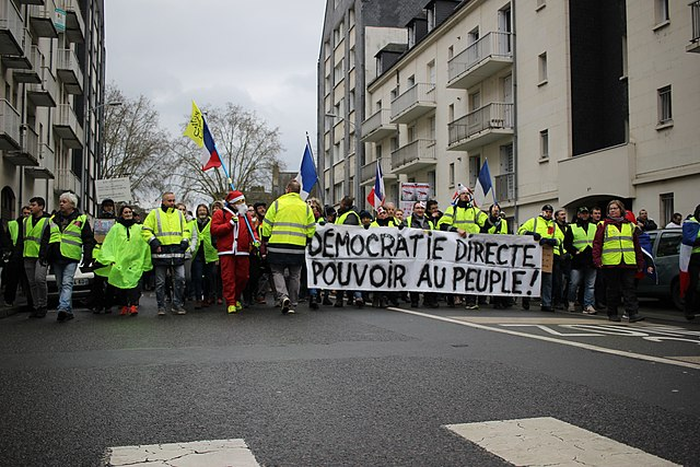 Manifestation Gilets jaunes 2019