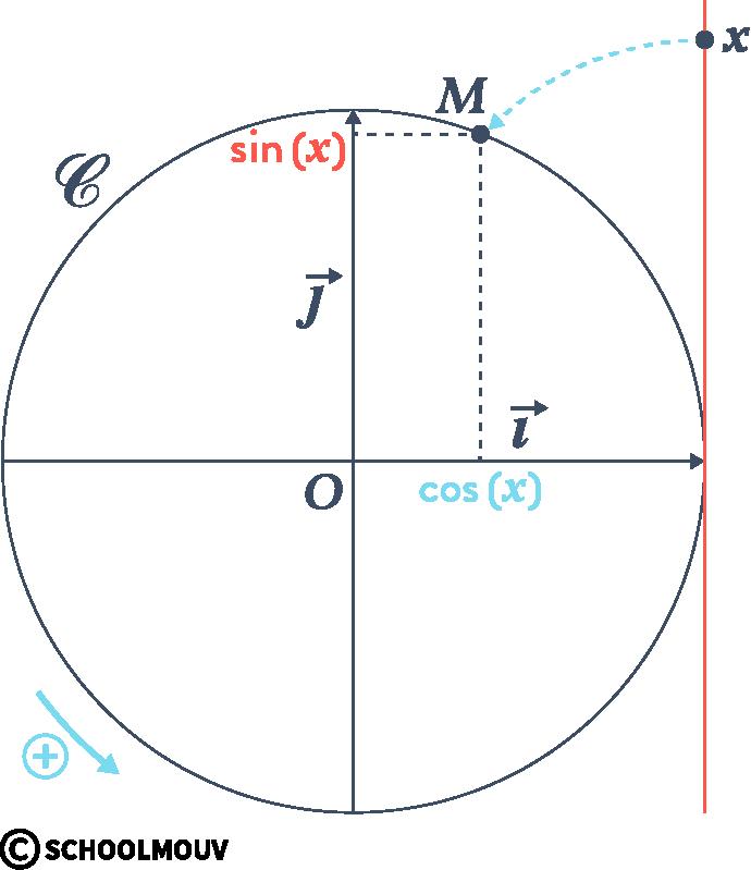 Alt Mathématiques terminale spécialité analyse fonctions trigonométriques cosinus sinus cercle
