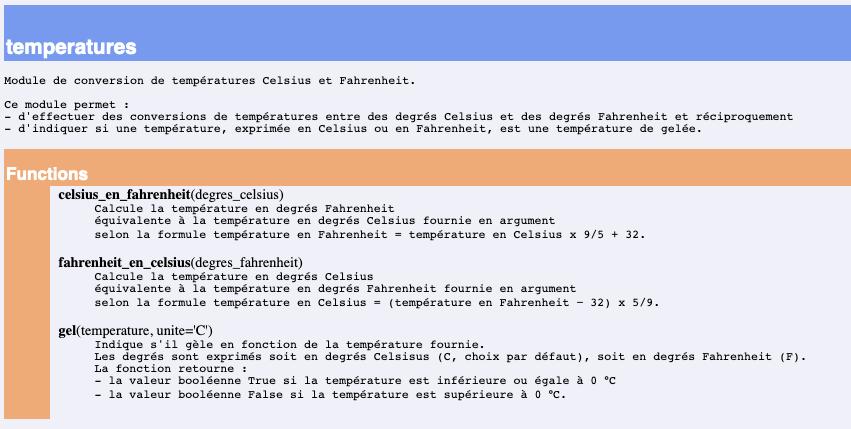 Python NSI modularité programmation