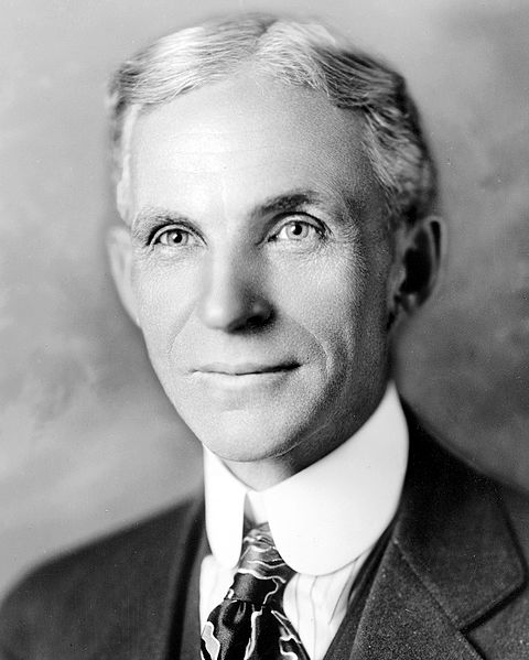 Henry Ford fordisme travail à la chaîne