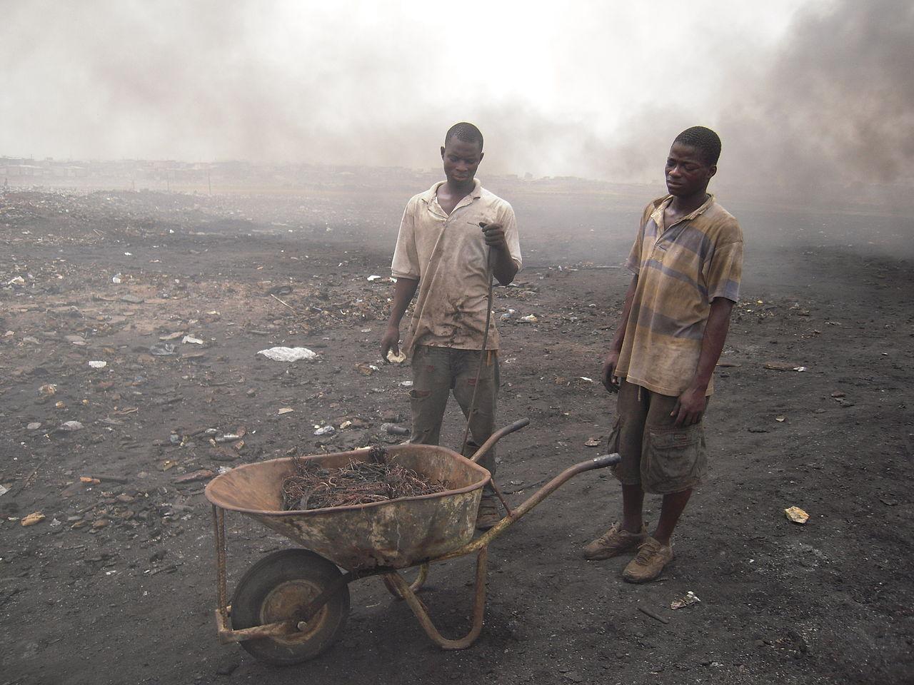 Agbogbloshie pollution