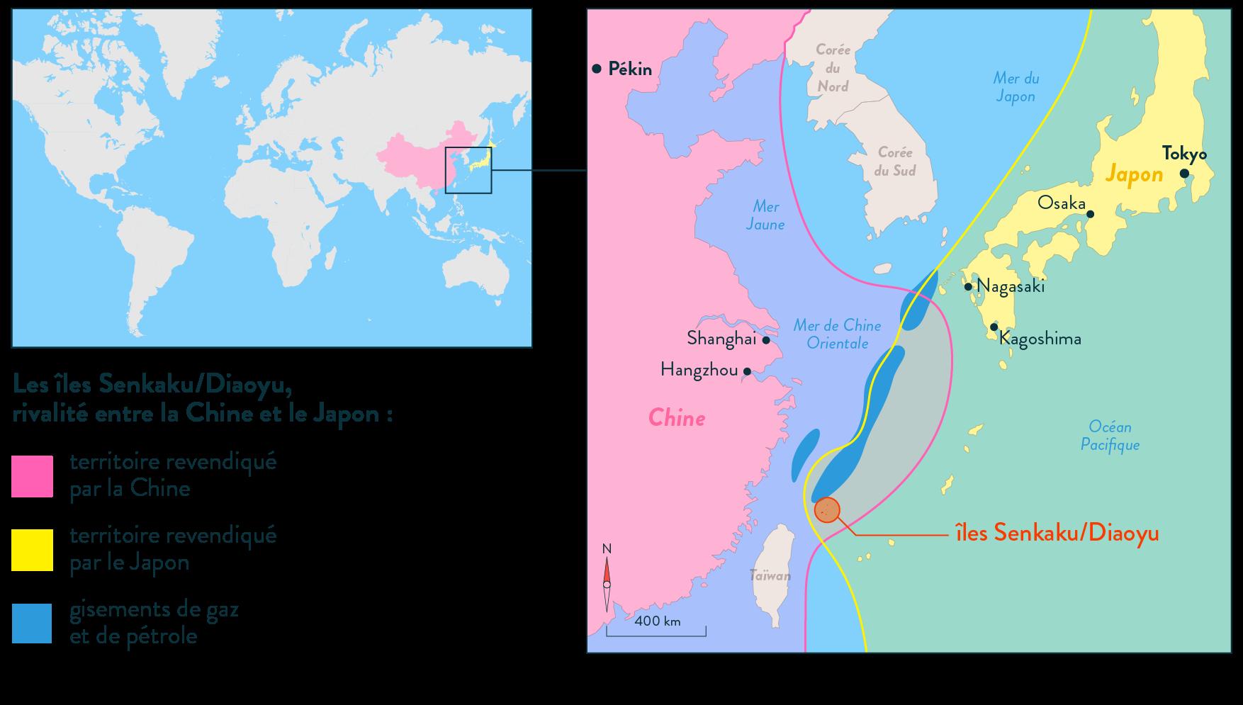 îles senkaku Diaoyu rivalité Chine Japon